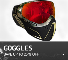 Paintball Goggles, Sly Profit, Dye i4, Empire, JT, Vforce Grillz, Thermal Lens, Camo,