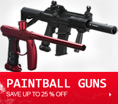 Paintball Guns, Gun Packages, Electronic Guns, Tippmann, Empire, Dye, Dangerous Power, AXE, Magfed, Spyder